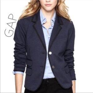 Gap The Academy military navy blazer jacket 2 XS S